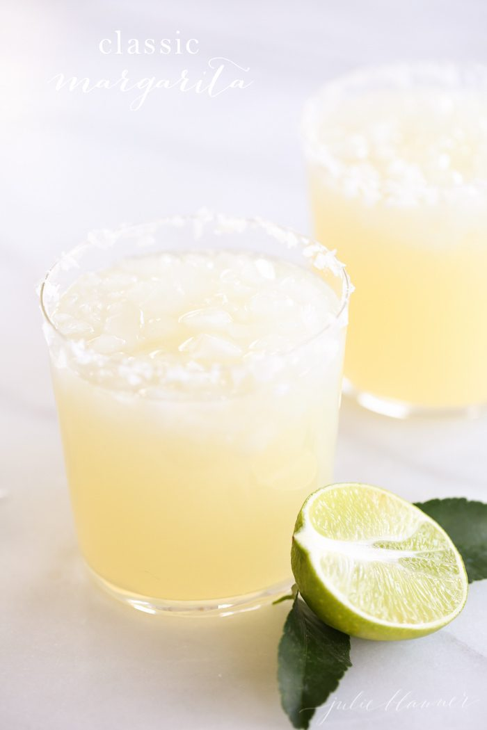 homemade margarita