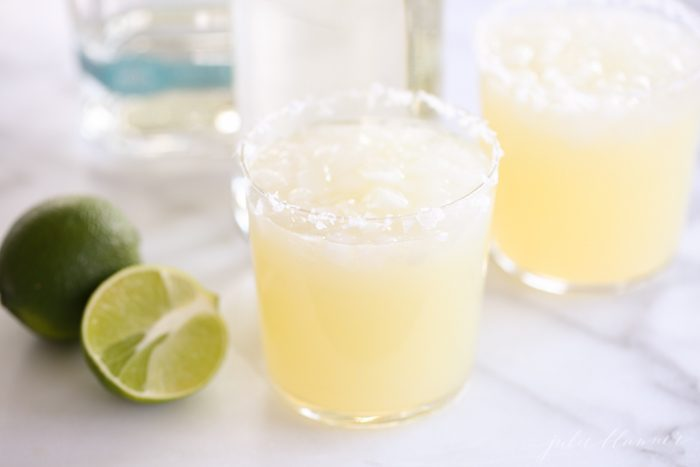 Skip the margarita mix! A classic margarita you'll make time and time again!