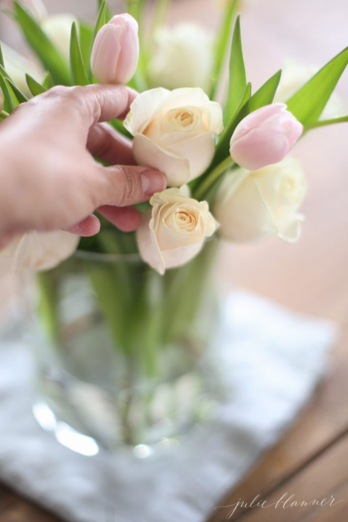 beautiful flower arrangement tutorial