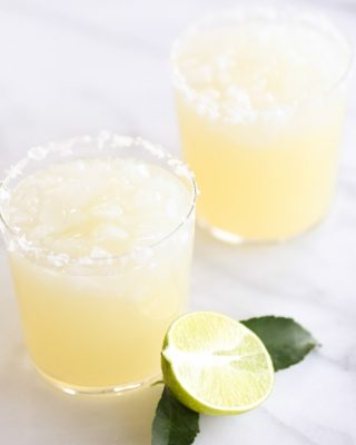 Easy margarita recipe, made in minutes - make one or a pitcher