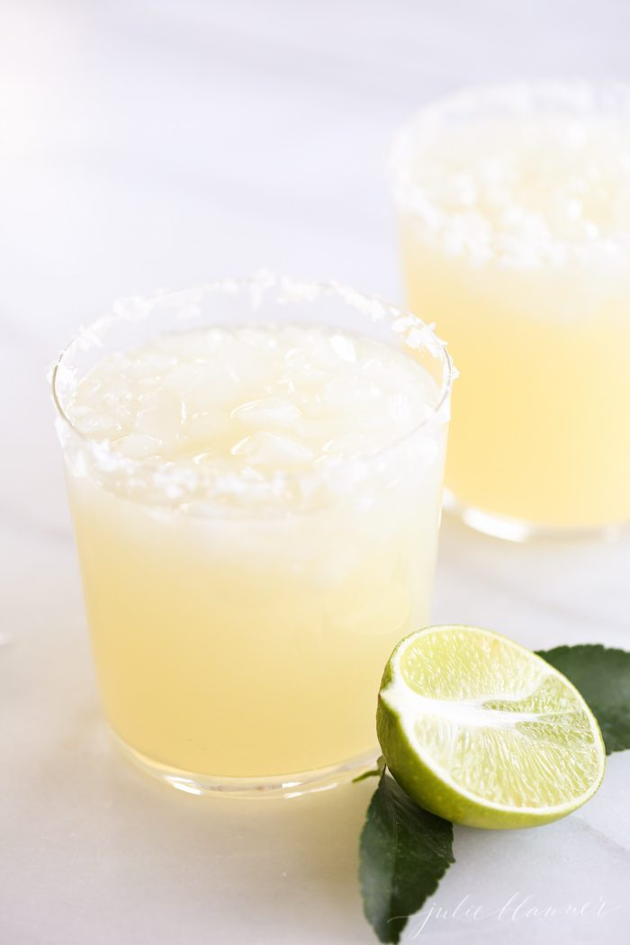 Homemade margarita recipe