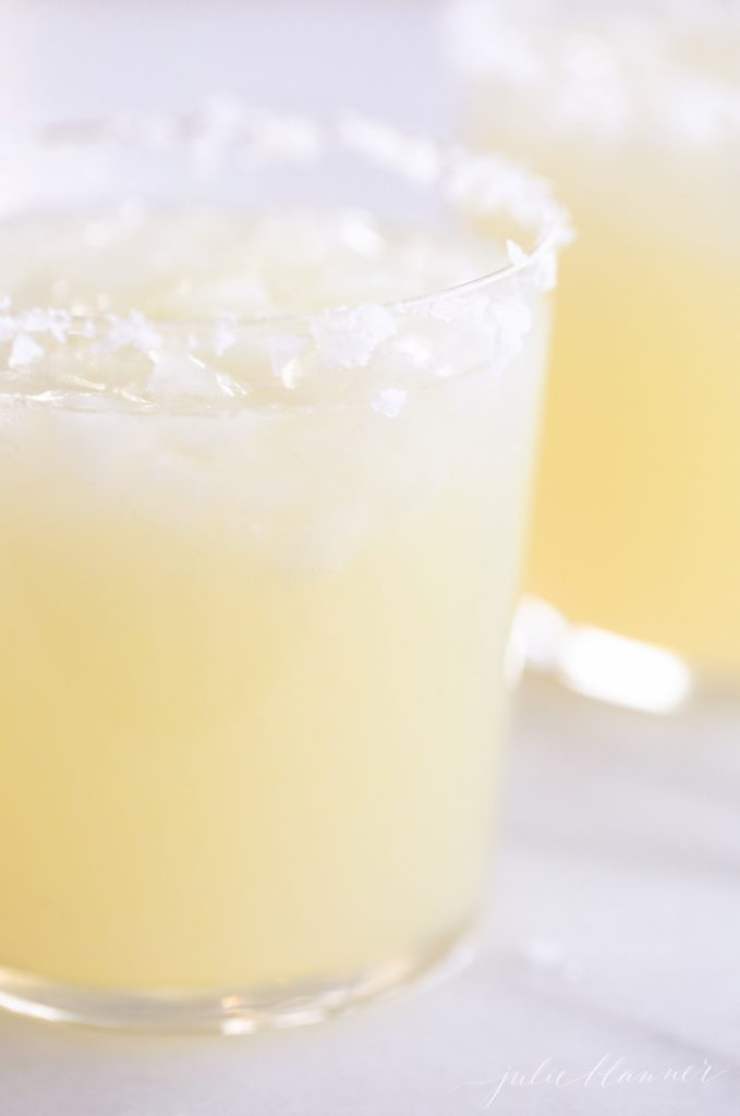 Easy and refreshing classic margarita recipe, you'll never buy a mix again!
