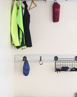 Organize your gym gear with an outdoor closet | garage storage and organization