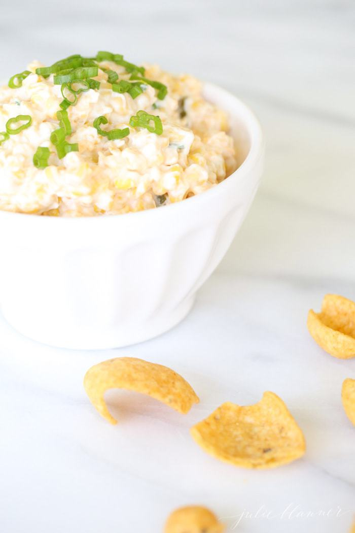 Easy crack corn dip recipe