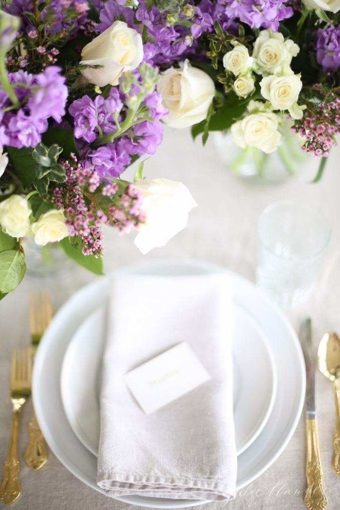 beautiful spring entertaining ideas