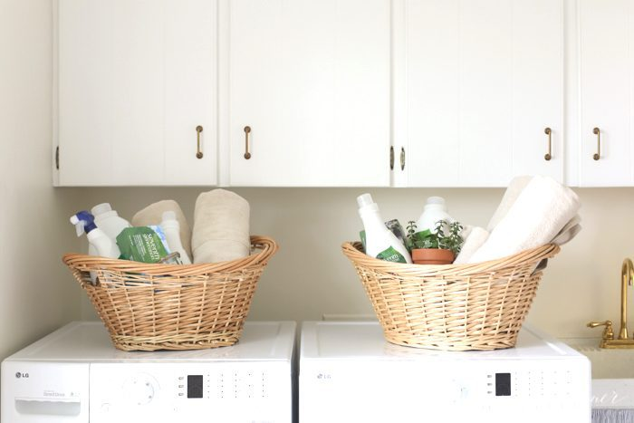 laundry gift basket   perfect idea for a high school grad going away to college or a beautiful housewarming gift idea