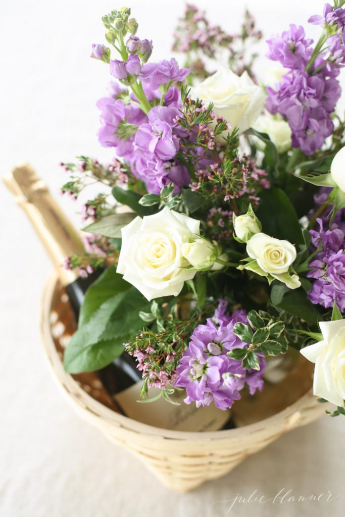 Easy and beautiful Mother's Day gifts that double as brunch centerpieces