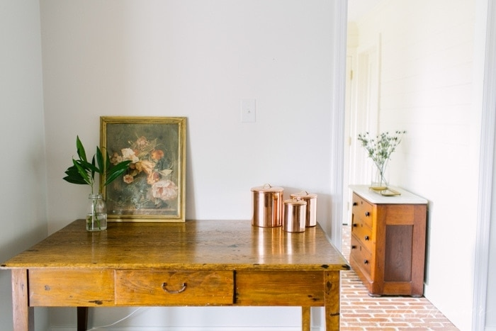 creative and versatile ideas for end tables, desks and more!