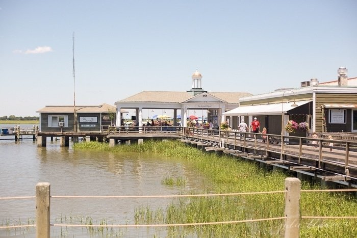 Where to eat on Jekyll Island with kids