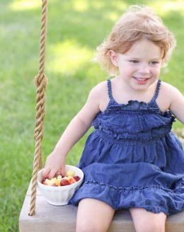 Secret ingredient fruit salad recipe   healthy side for kids