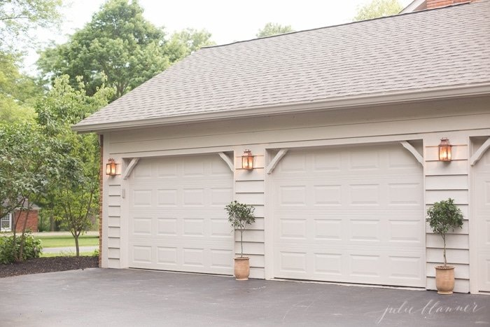 Simple garage makeover