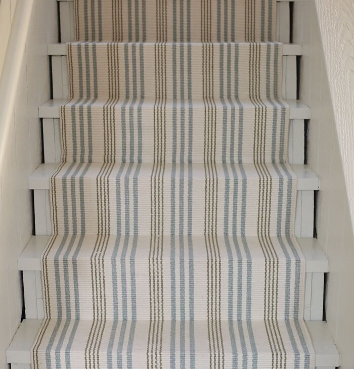 how to update your basement stairs on a budget