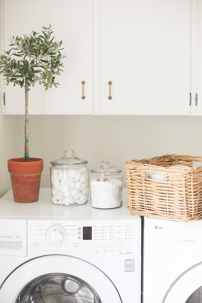 Keeping it Simple with Laundry Room Organization