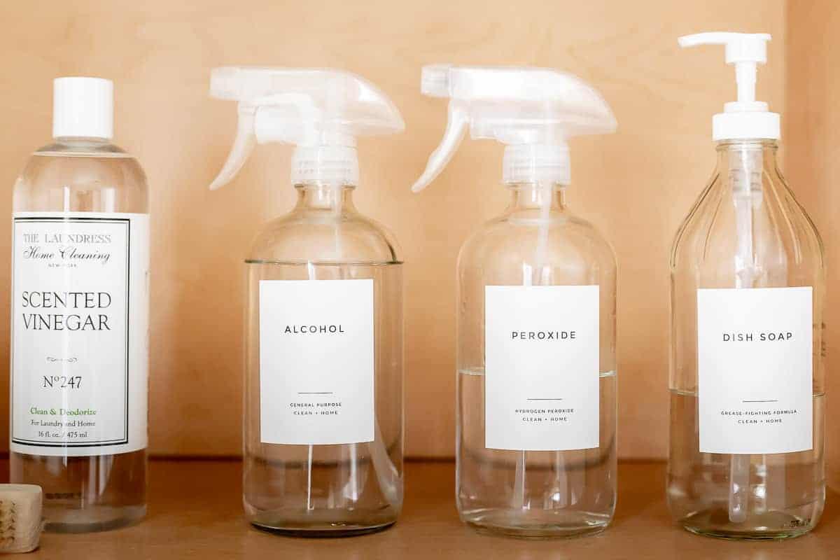 laundry squirt bottles