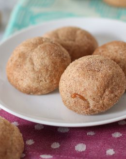 Caramel Apple Butter Snickerdoodles Cookies   Best Cookie Recipes
