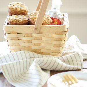 Apple Cobbler Muffins housewarming or hostess gift idea