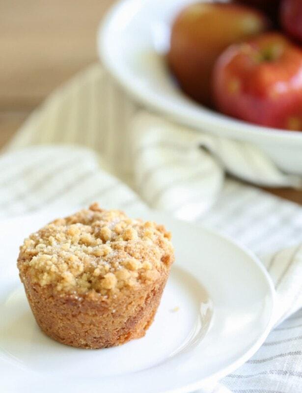 Easy Apple Cobbler Muffins recipe