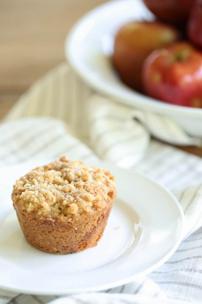 Easy Apple Cobbler Muffins recipe