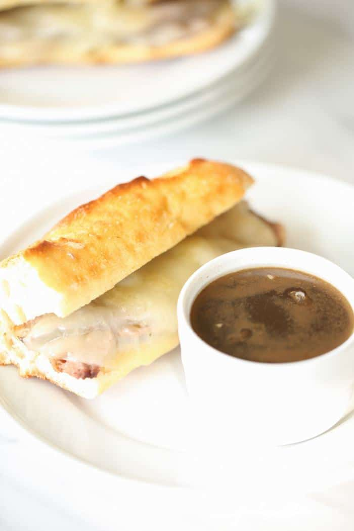 the secret to the best french dip sandwiches with au jus