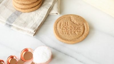 stamped shortbread cookies