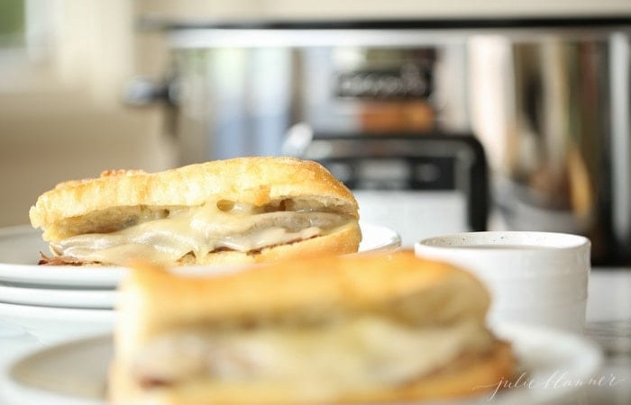 easy weeknight meal - incredible french dip sandwiches