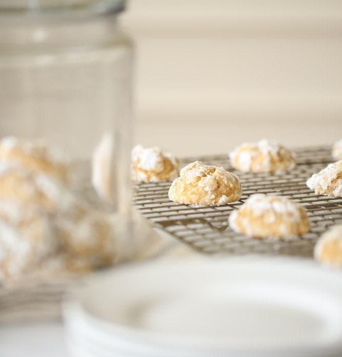 Pumpkin Gooey Butter Cookies are like heavenly bite sized pillows of cake!