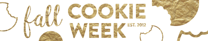 fall cookie week banner