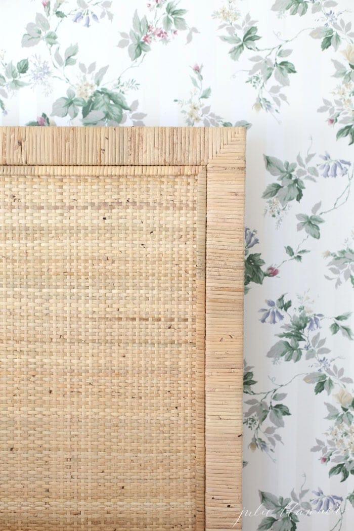 tips to make dated wallpaper feel fresh