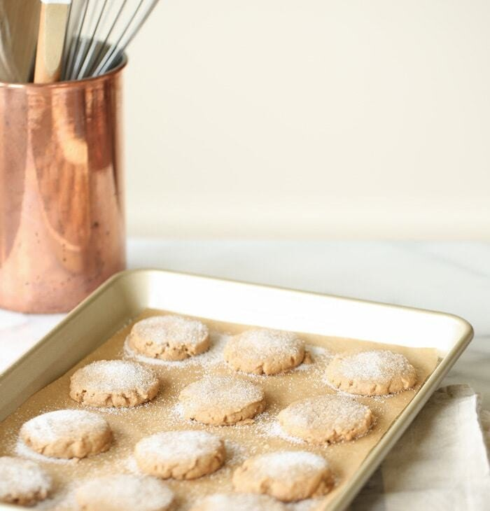 flavorful sugar and spice shortbread cookies   the best Christmas cookie recipe