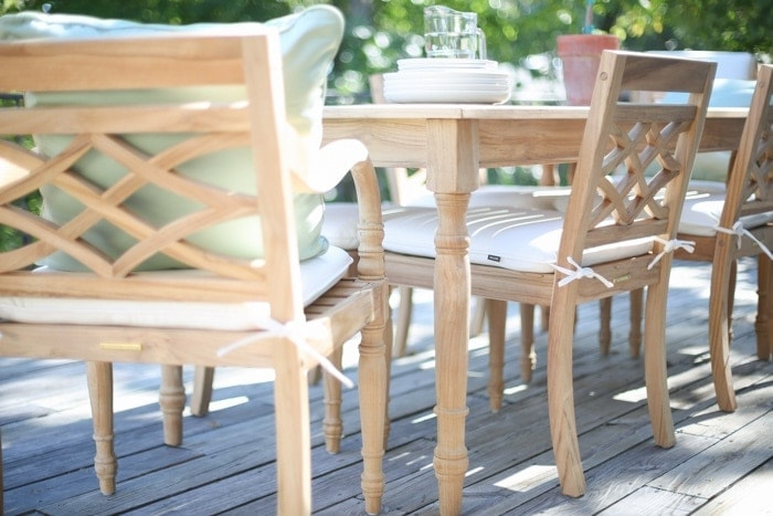 Teak Dining Furniture Set