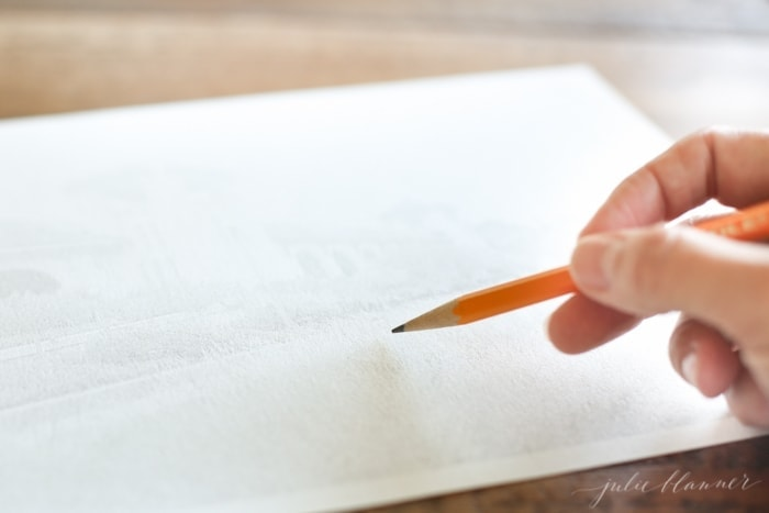 Learn how to turn a photo into a pencil sketch piece of art
