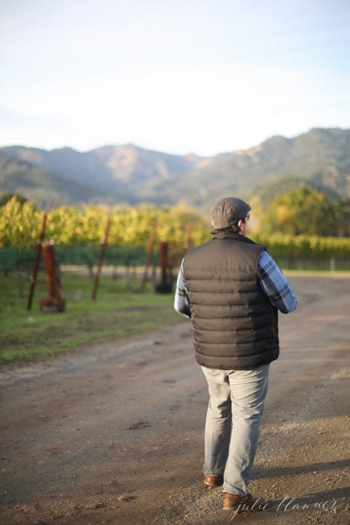 Tips for visiting Napa Valley Wineries for tours and tastings