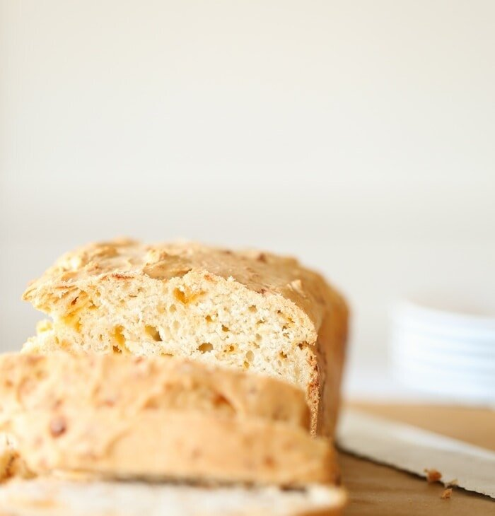 The best cheddar beer bread recipe