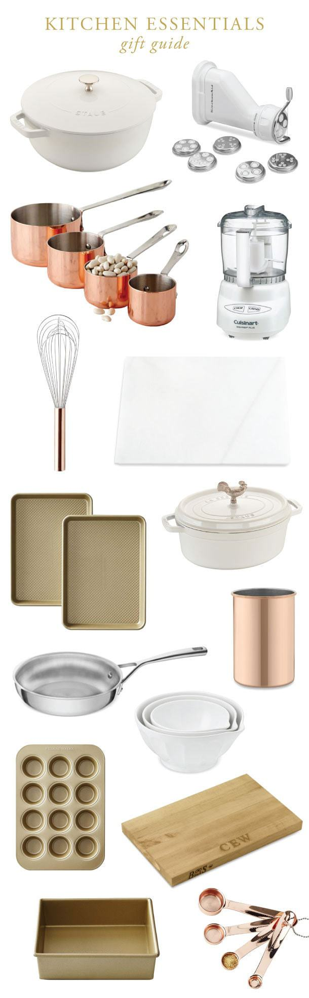 Classic Kitchen Essentials Christmas Gift Guide