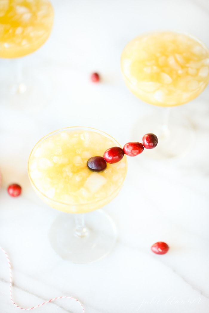 We wish you a Merry Mai Tai - a crowd pleasing Christmas cocktail that will warm you up this winter {made in just 3 minutes}