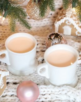 whimsical pink hot chocolate kids will love