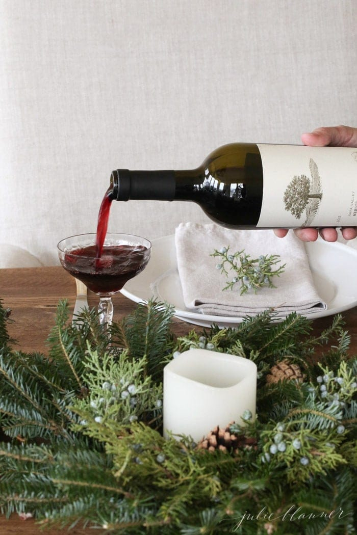 Entertaining expert Julie Blanner shares Christmas entertaining ideas
