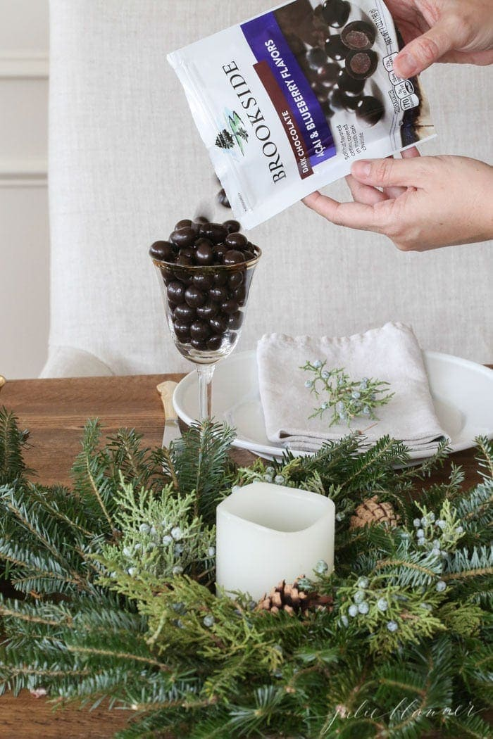last minute Christmas entertaining ideas with lifestyle blogger Julie Blanner