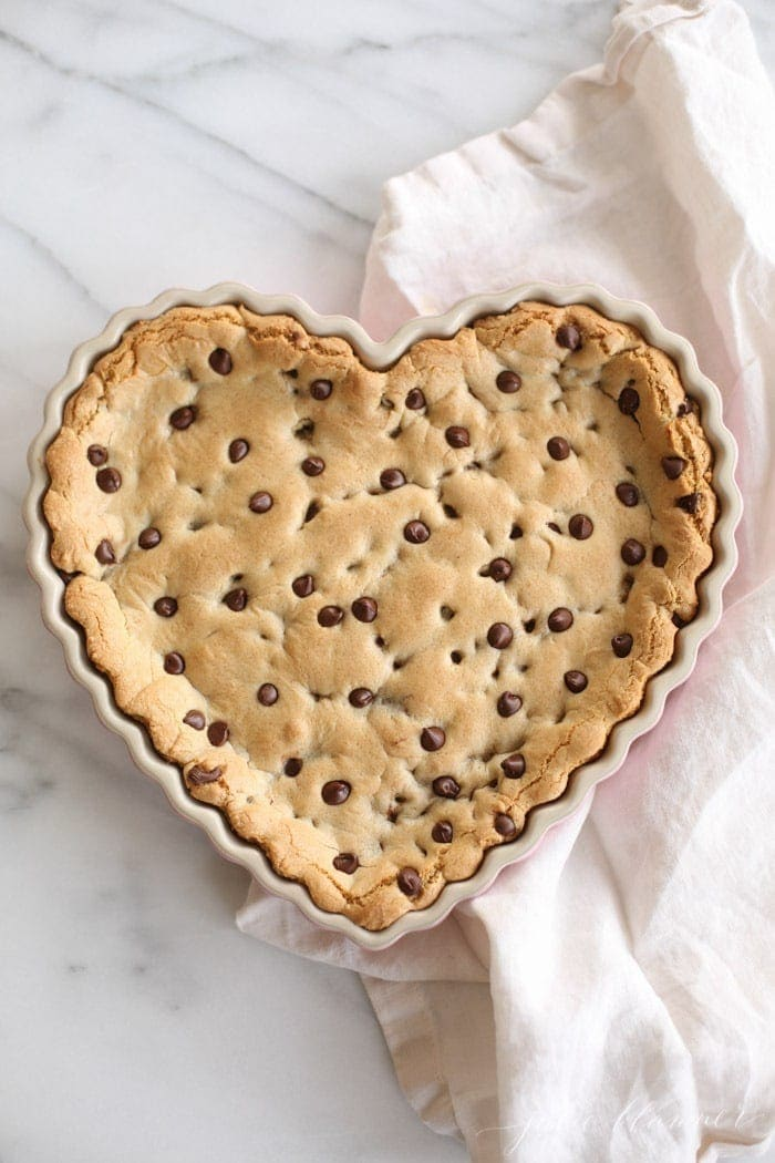 The Best Chocolate Chip Cookie Cake Recipe