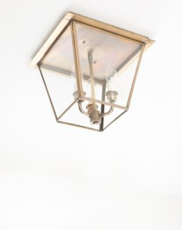 brass lanterns hall lights