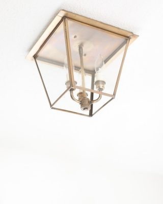 brass lanterns hall lights