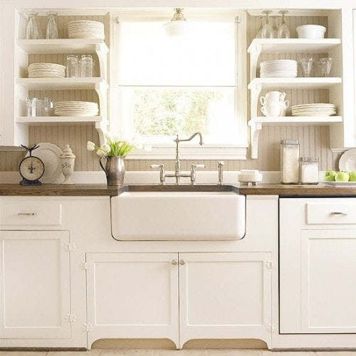 apron front farmhouse sink