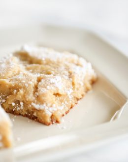 easy gooey butter cake recipe without a mix