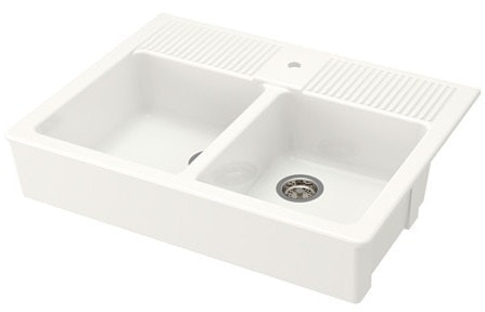 ikea apron front sink