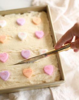 the best sugar cookie bars with buttercream icing