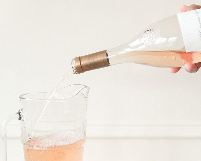 how to make rosé slushies   easy 2 ingredient rose slushy recipe