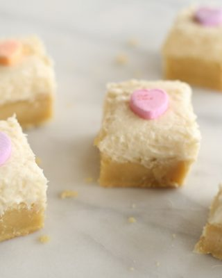 frosted sugar cookie bars - thick, chewy melt in your mouth sugar cookie bars