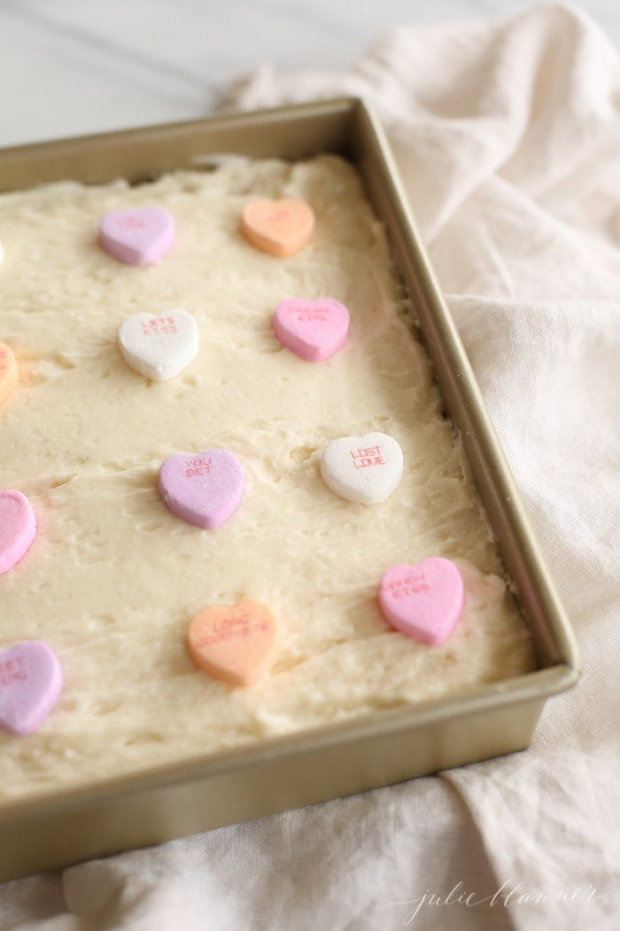 the best sugar cookie bars with buttercream frosting