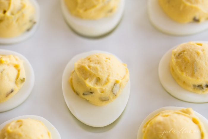 secrets to making the best deviled eggs