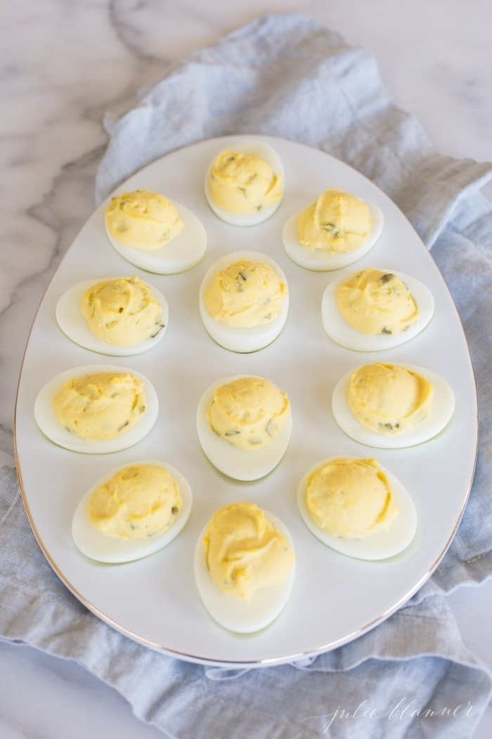 secrets for the best deviled eggs - a classic Easter appetizer